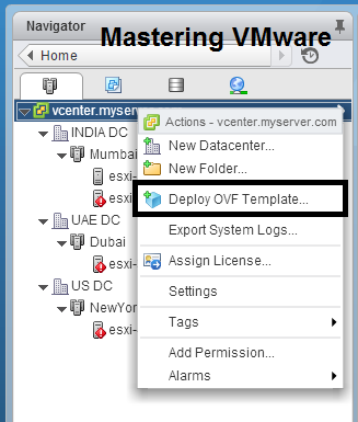 How to deploy ovf or ova | Mastering VMware