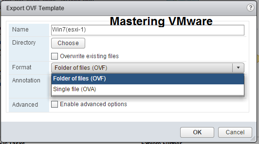 Photo of How to Export VM as OVF or OVA ?