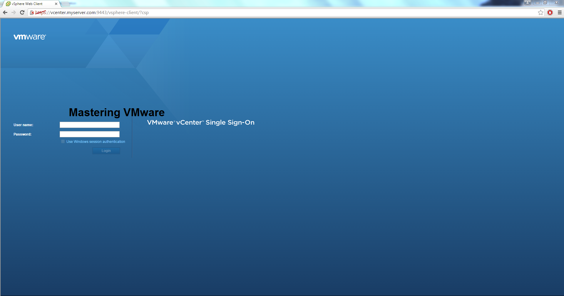 Photo of Getting Started with vSphere Web Client