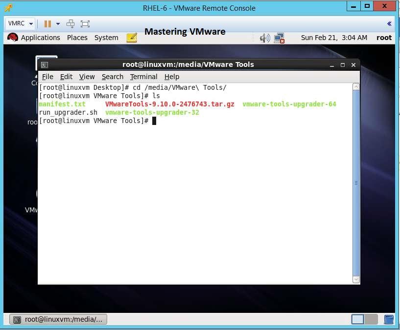 vmwaretools-linux-4
