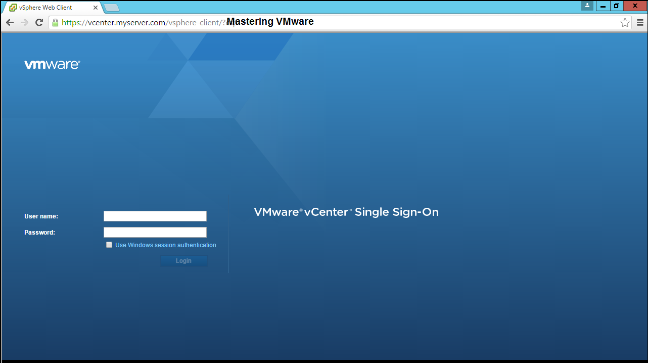 Photo of How to remove vCenter Certificate Warning