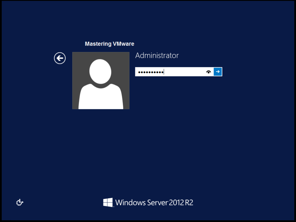 vmware iso windows server 2012