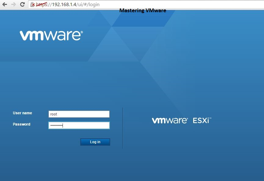 Photo of Installing ESXi Web Client