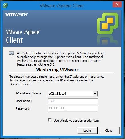 Photo of Good Bye to vSphere Windows Client