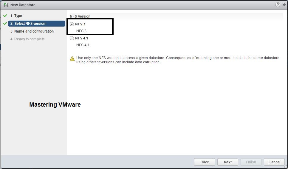 How to add NFS Datastore | Mastering VMware