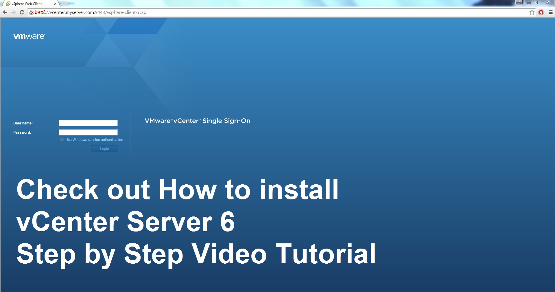 Photo of vCenter 6 Installation Step by Step Video Tutorial