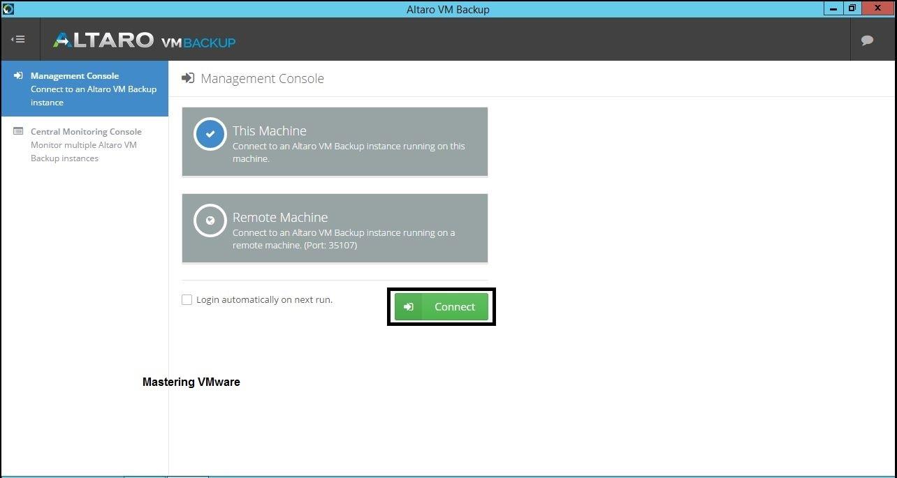 Configuring-Altaro-VM-Backup