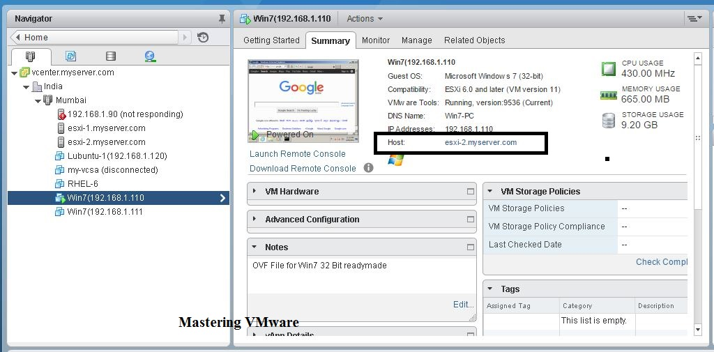 Photo of How to Migrate VM using vMotion ?