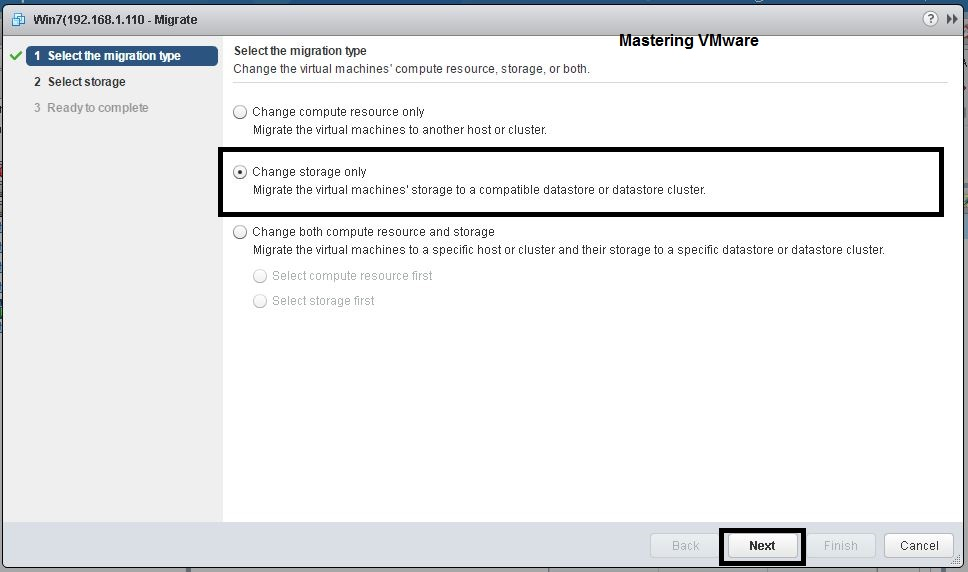 Photo of How to Migrate VM storage using Storage vMotion ?