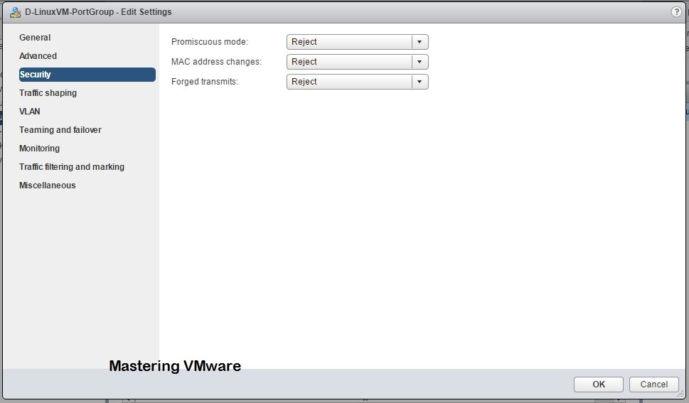 Photo of vDS-Part11 : Distributed Switch Port Group Security Settings