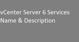 vcenter-services