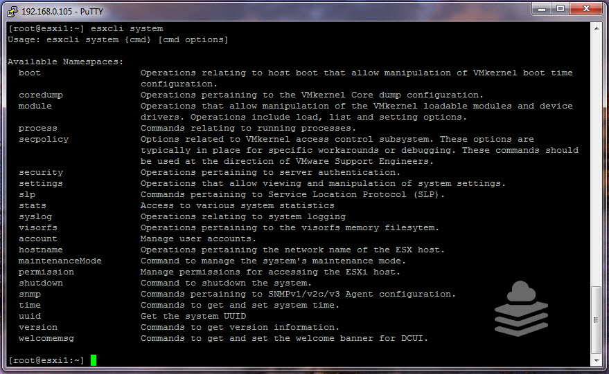 Photo of ESXi Commands Part-3 : Managing ESXi using esxcli commands