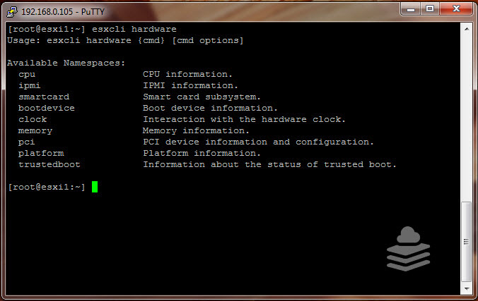 Finding Hardware information using esxcli | Mastering VMware