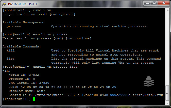 Photo of ESXi Commands Part-5 : Finding VM information using esxcli