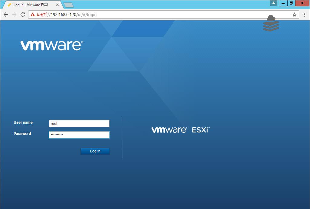 ESXi 6 5 web client | Mastering VMware
