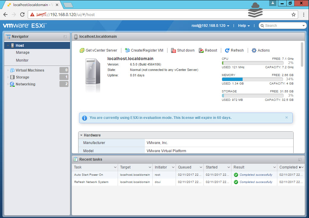 Photo of ESXi 6.5 Web Client In-Depth Overview