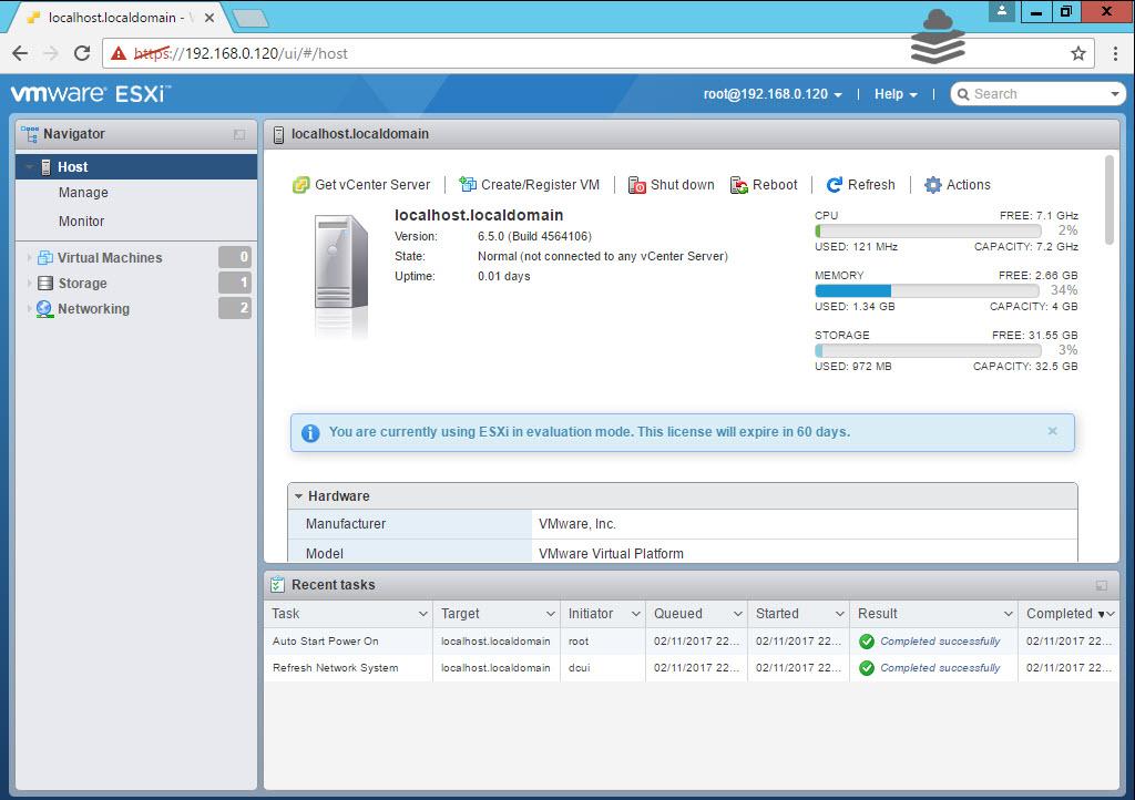 ESXi 6 5 web client   Mastering VMware