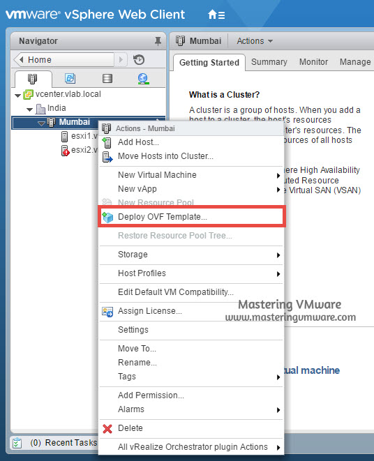 Installation of vROPS | Mastering VMware