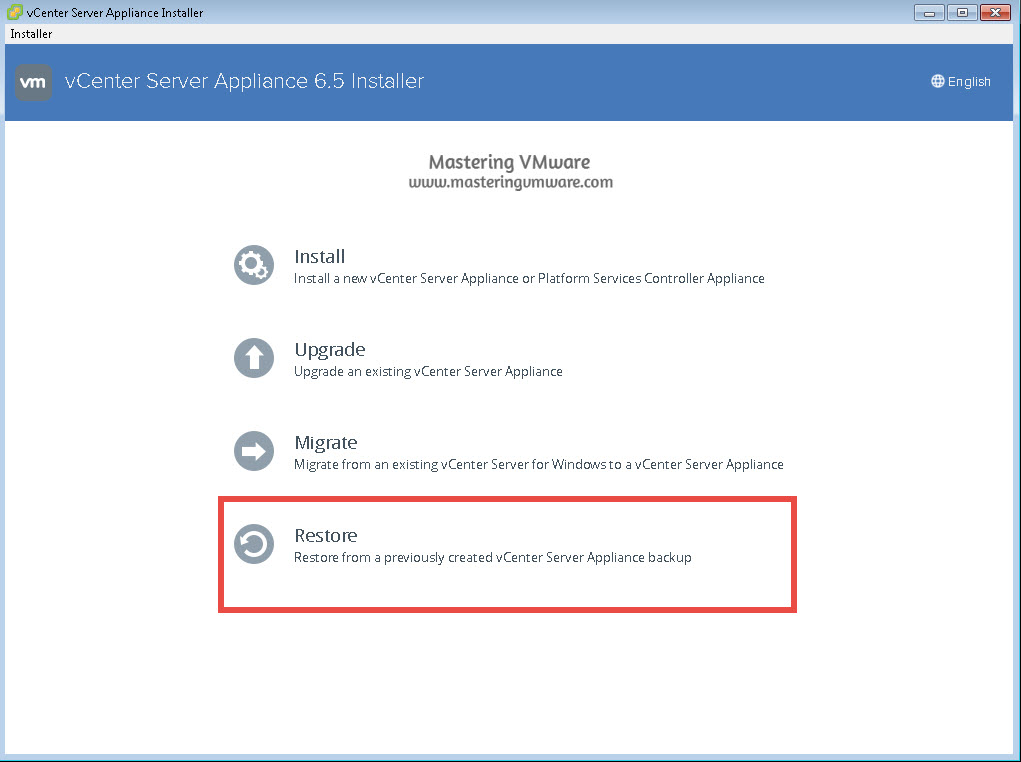 vcsa-restore-1