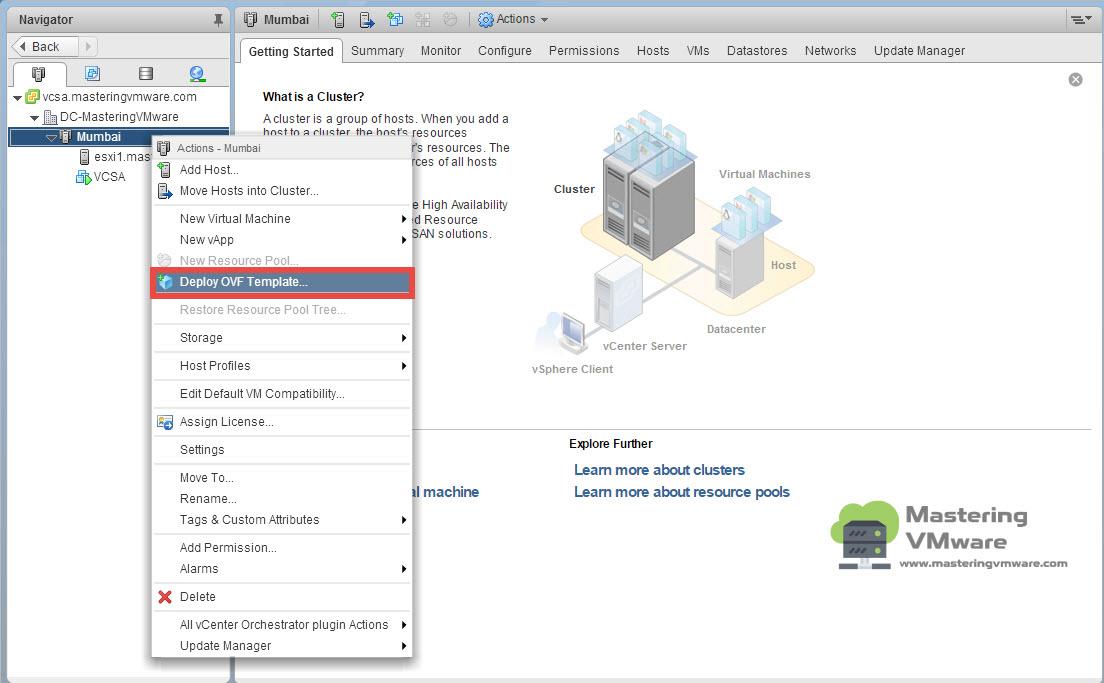 Deploy vSphere Replication | Mastering VMware