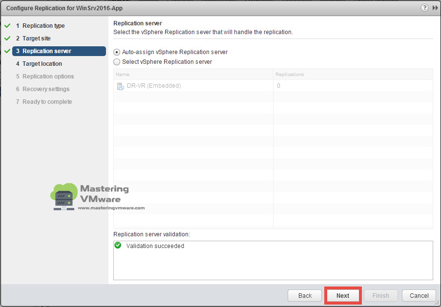 Configure VM Replication | Mastering VMware