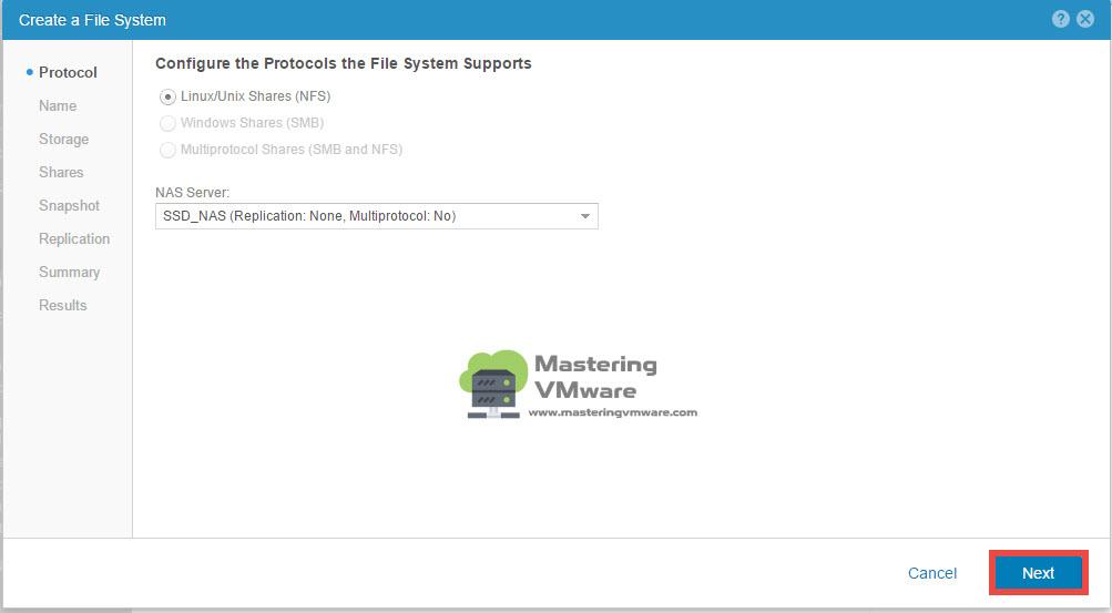 EMC-UnityVSA-filesystem-2