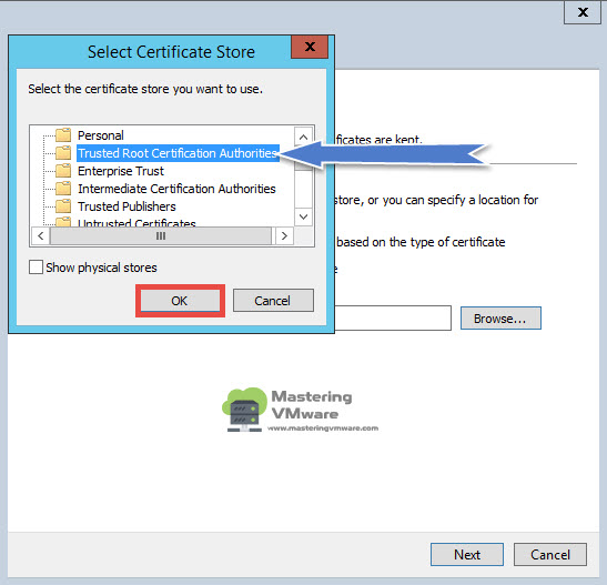 ESXi ISO Upload Error | Mastering VMware