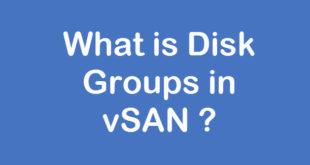 vsan-disk-group