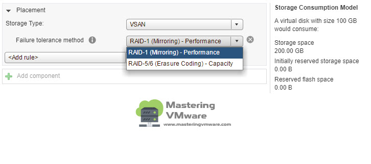 vsan-failure-tolerance-method