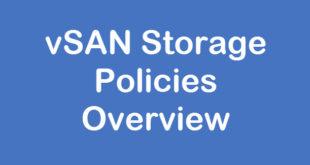 vsan-storage-policy
