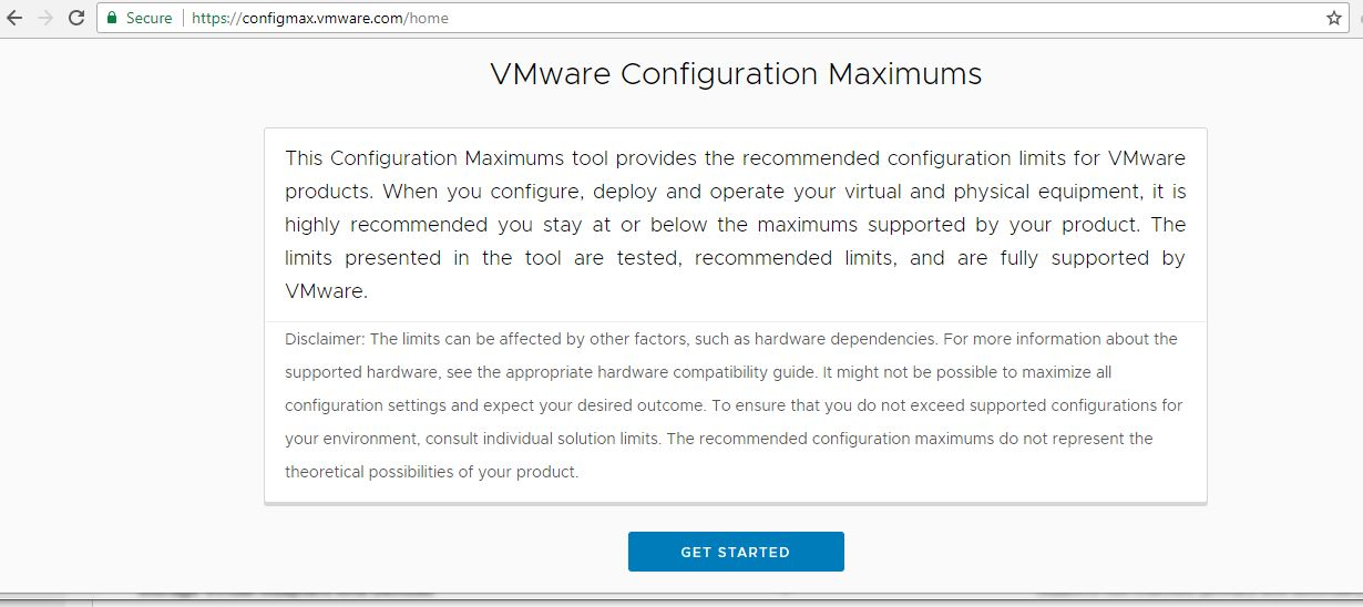 vsphere-configuration-maximum-tool