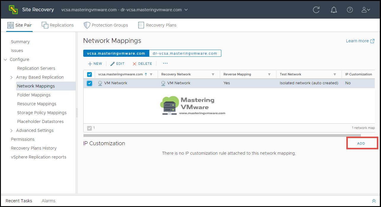 IP Customization in SRM