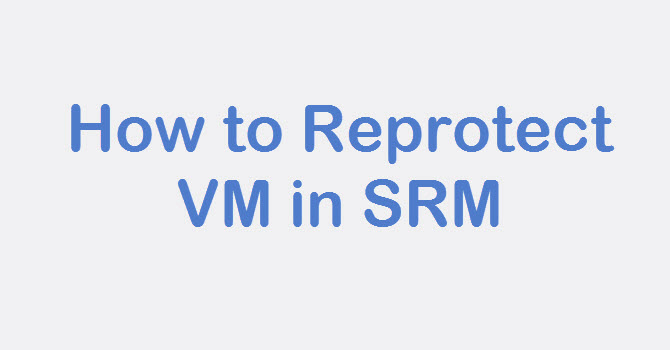 SRM Reprotect