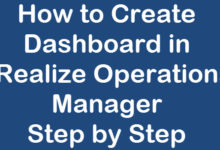 Photo of How to Create Dashboard in vRealize Operations Manager