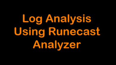 Photo of Log Analysis using Runecast Analyzer
