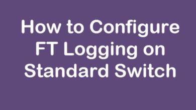 Configure FT Logging