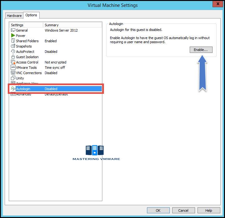 Autologin in VMware Workstation | Mastering VMware