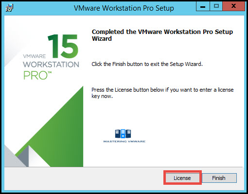 install vmware workstation