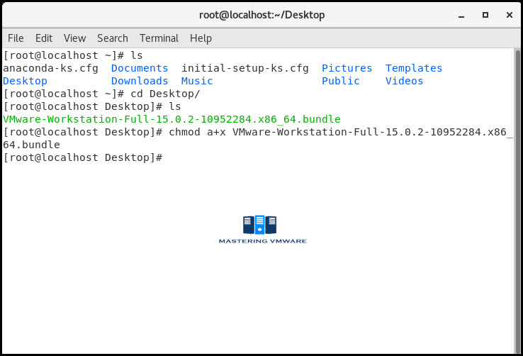 install vmware workstation on linux