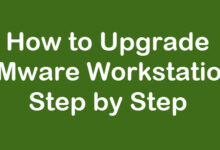 upgrade VMware Workstation