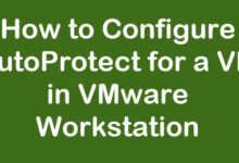 auto protect vmware workstation