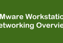 vmware workstation networking