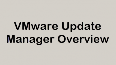 Photo of VMware Update Manager Overview