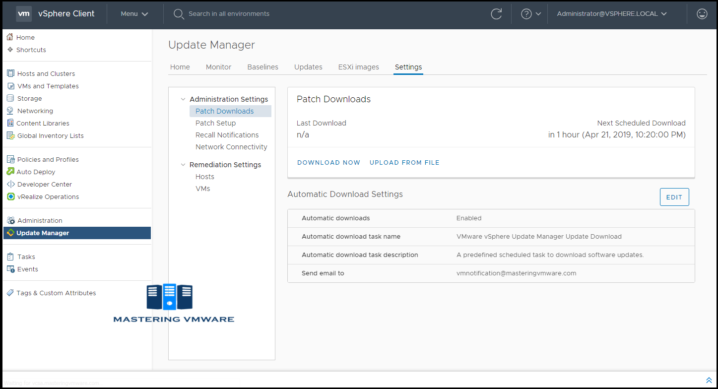 VMware Update Manager Overview | Mastering VMware