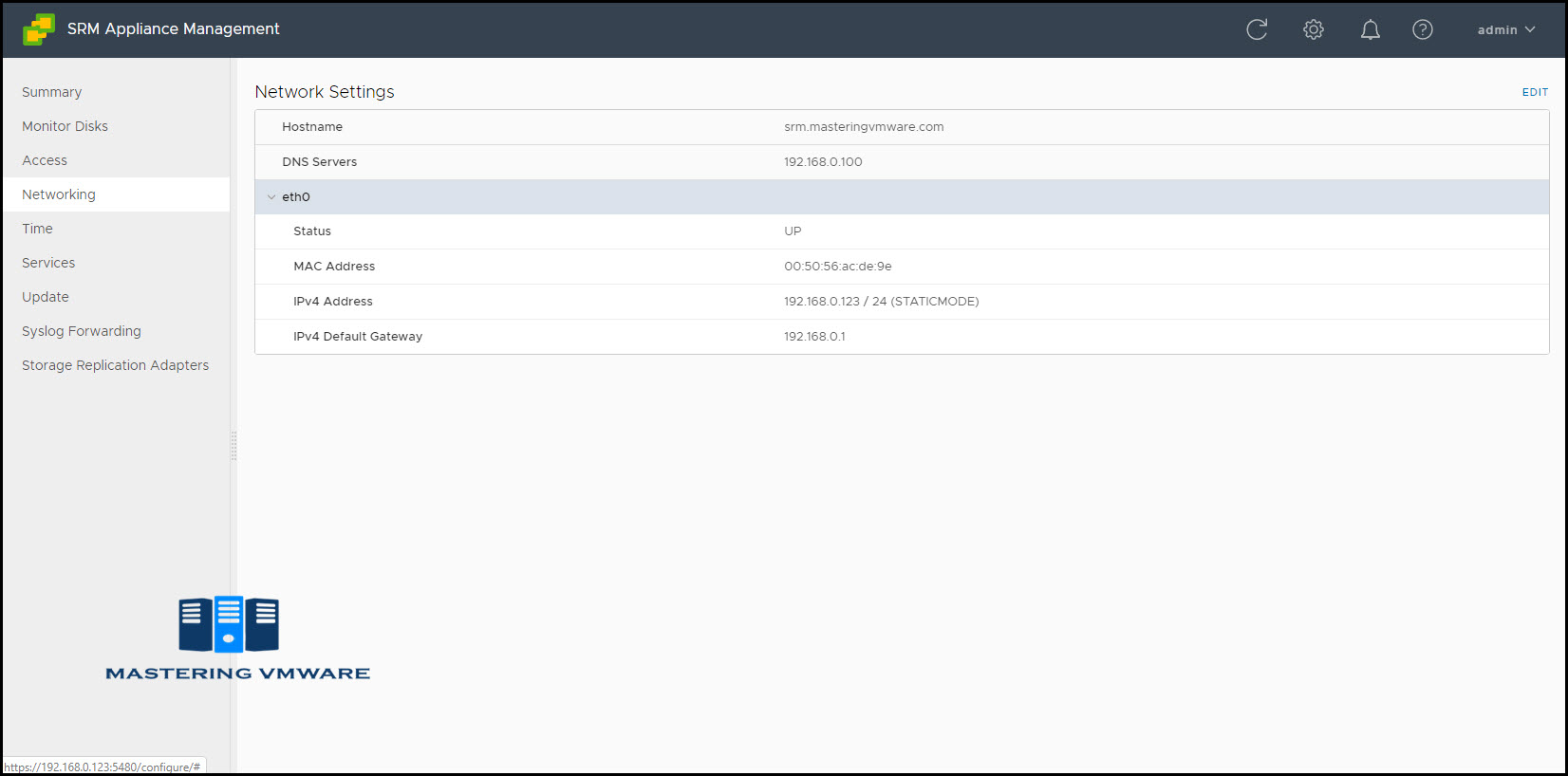 site recovery manager appliance overview