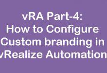 custom branding in vrealize automation