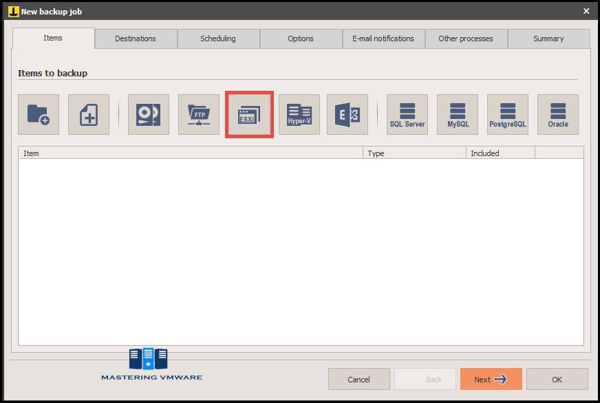 Iperius VM Backup