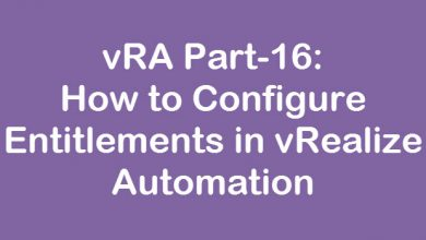 Photo of vRA Part-16: How to Configure Entitlements in vRealize Automation