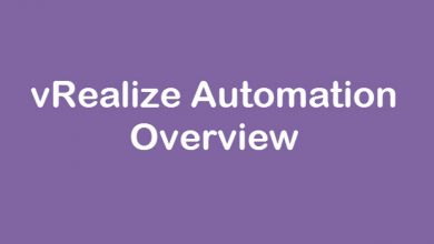 Photo of vRealize Automation Overview