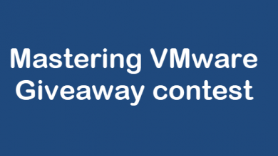 Photo of Mastering VMware Giveaway contest